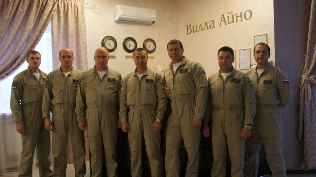 Группа высшего пилотажа Витязи